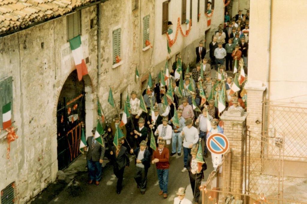 1987 Quindicesimo Anniversario Gruppo Alpini Cogozzo