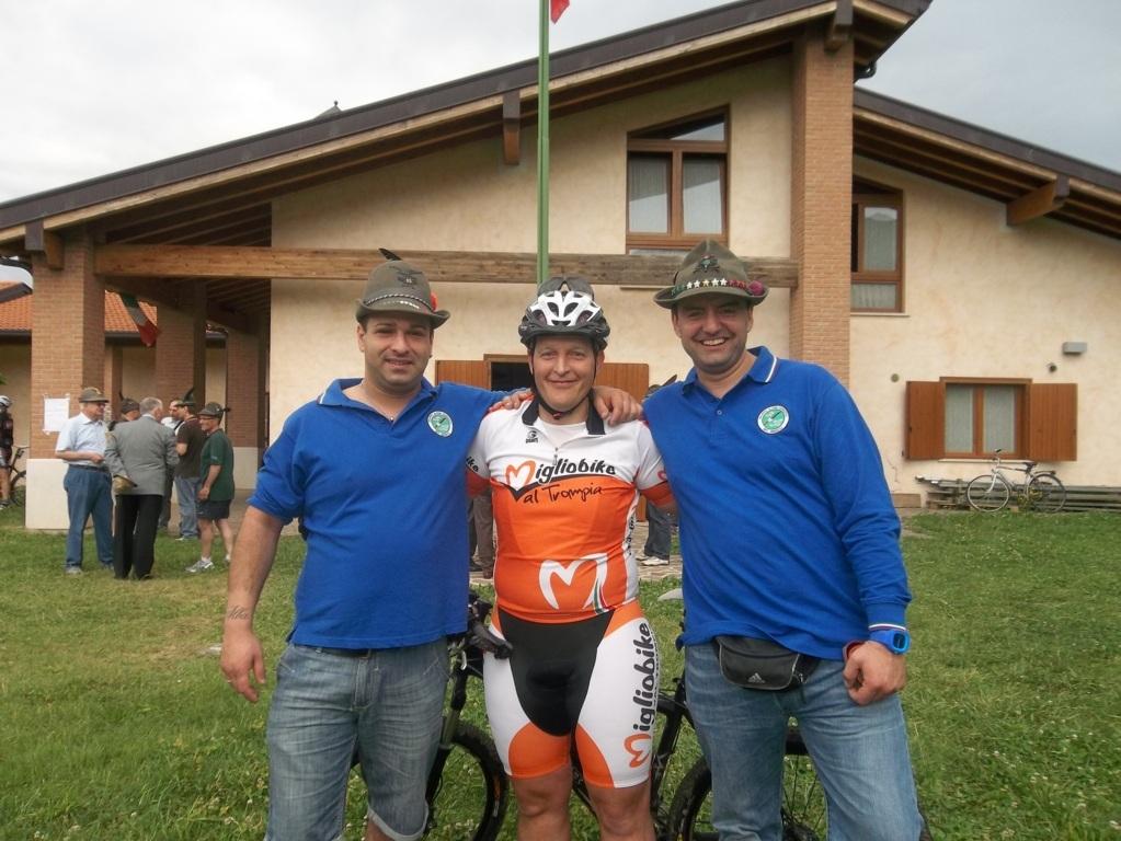 Gara di Mountain bike Alpini 2012