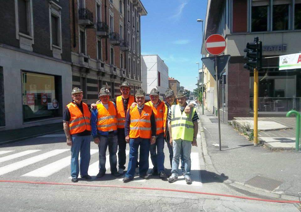 Arrivo Giro d'Italia 2013