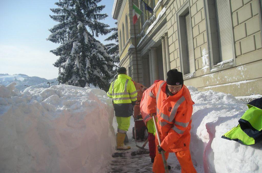 Cesena calamità neve 2012
